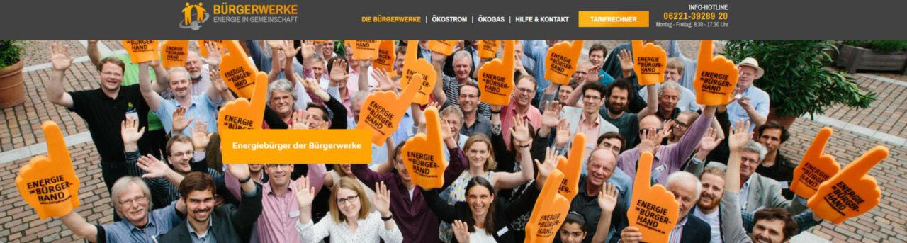 Bürgerwerke eG - genossenschaftliche dezentrale Öko-Energie