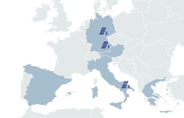 CAV Solar Projektentwicklung 1 - Deutschland und Italien Solar