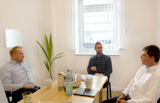 CAV Partners zu Besuch bei Grüne Sachwerte in Bremen