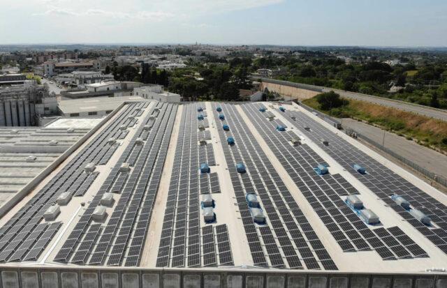CAV Solar Projekt 1 - Solardach in Italien