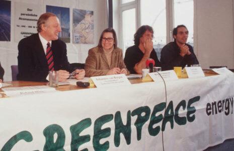 Greenpeace Energy eG - Gründung der Genossenschaft 1999