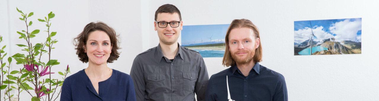 Grüne Sachwerte Bremen Team - Sandra Horling, Henrik Steinert, Michael Horling