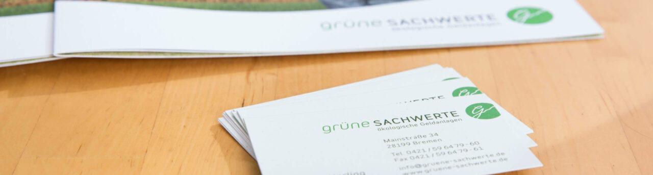 Grüne Sachwerte in Bremen - ökologische Geldanlage seit 2012