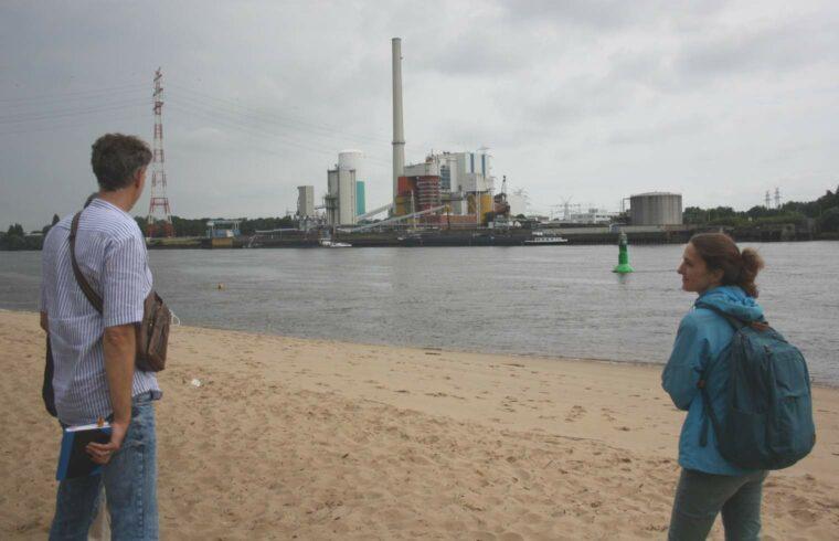 Kohlekraftwerk Farge - Steinkohlekraftwerk an der Weser