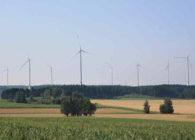 Lacuna Windpark Hohenzellig Bayern