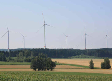 Lacuna Windpark Hohenzellig