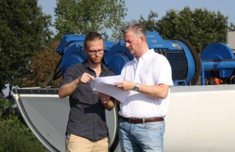 Ökorenta - Interview Jörg Busboom am Repowering Windpark