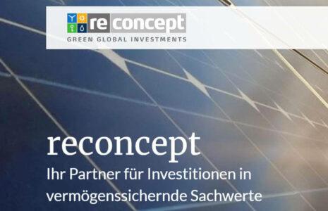 Reconcept aus Hamburg - Erneuerbare Energien