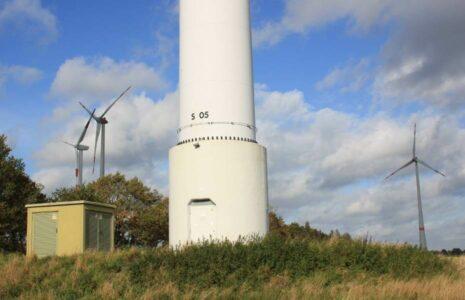 Repowering-Windpark Emlichheim mit neuen Enercon-Windkraftanlagen