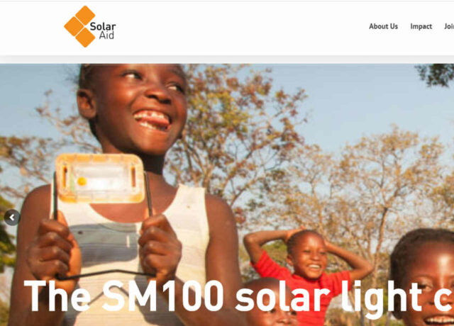 SolarAid - Solarlampen für Afrika - Spende