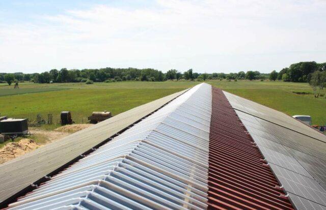 Grüne Sachwerte Solardachzins startet - Projekt Solaranlage Wolfsburg