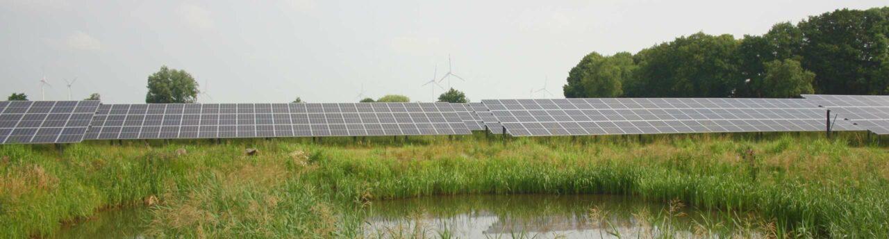 Ökorenta-Solarpark Burhafe - PPA mit Freiflächen-Photovoltaik in Ostfriesland