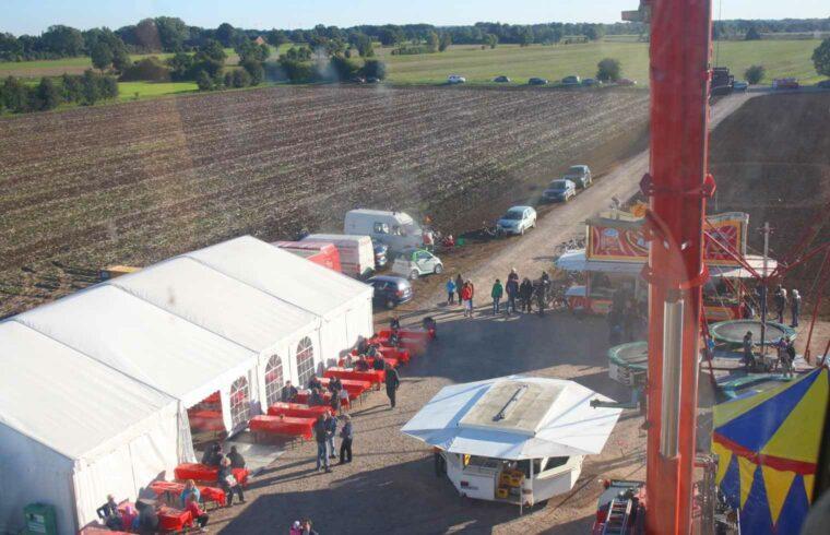 Windfest am Bürgerwindpark Beppener Bruch - Ausblick aus der Gondel