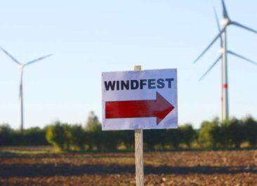Windfest am Bürgerwindpark Beppener Bruch bei Thedinghausen