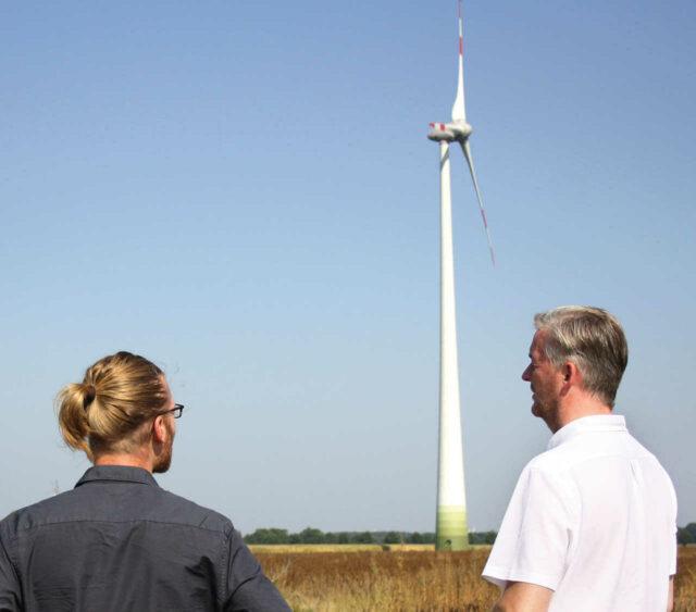 Windkraftfonds und Windkraftbeteiligungen: Investitionen in Windkraft bei Grüne Sachwerte auf www.gruene-sachwerte.de