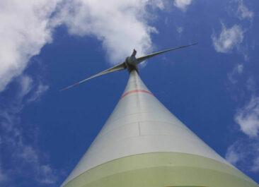 Windpark Emlichheim - Enercon-Windkraftanlage im Ökorenta-Fonds