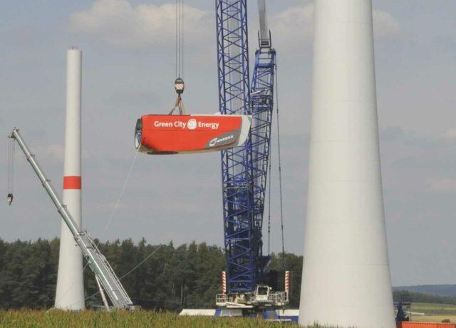 Windpark Maßbach Unterfranken - von Green City
