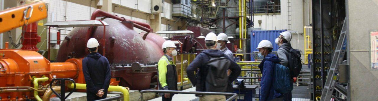 Windstrom speichern - Speicherkraftwerk Huntorf