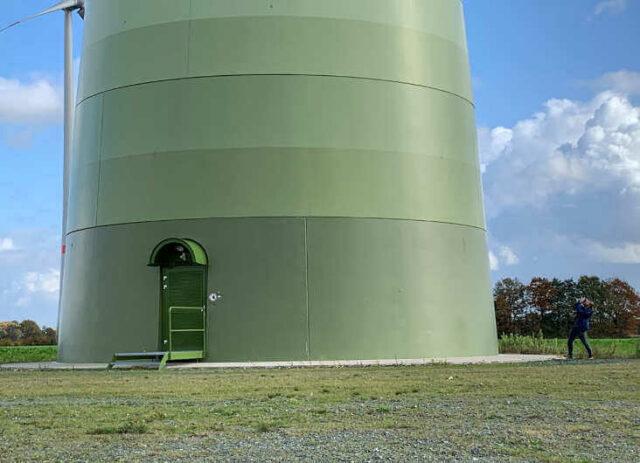 Windpark Emlichheim - Enercon-Windkraftanlagen bei Treffen von Grüne Sachwerte mit Ökorenta